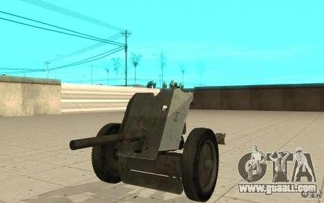Regiment gun, 53-45 mm for GTA San Andreas