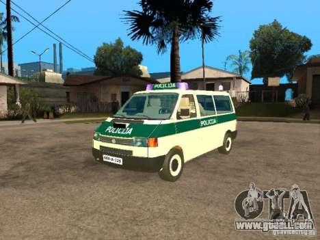 Volkswagen Transporter T4 Bosnian police for GTA San Andreas