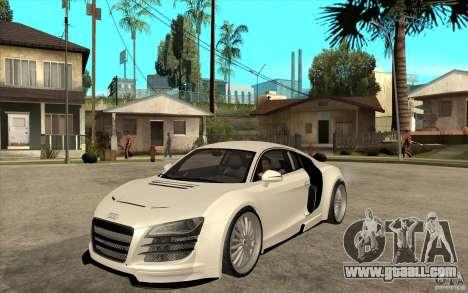 Audi R8 5.2 FSI custom for GTA San Andreas