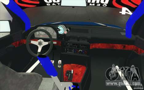 BMW E34 V8 for GTA San Andreas upper view
