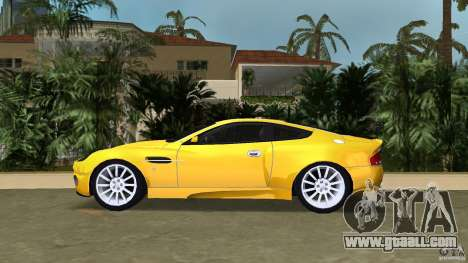 Aston Martin V12 Vanquish 6.0 i V12 48V v2.0 for GTA Vice City left view