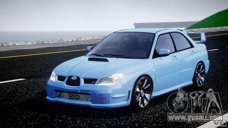 Subaru Impreza STI for GTA 4
