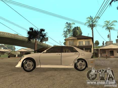 Lexus IS300 NFS Carbon for GTA San Andreas left view