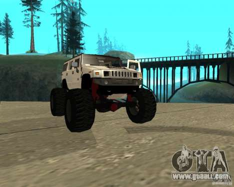 Hummer H2 MONSTER for GTA San Andreas