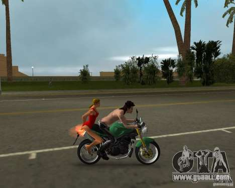 Triumph Speed Triple for GTA Vice City back left view