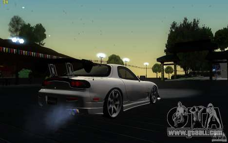 Mazda Rx7 C-West for GTA San Andreas right view