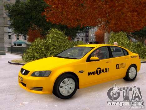 Holden NYC Taxi V.3.0 for GTA 4 side view