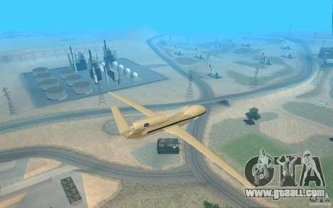 Grumman RQ-4 for GTA San Andreas left view