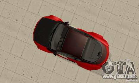 Mitsubishi Eclipse - Tuning for GTA San Andreas right view