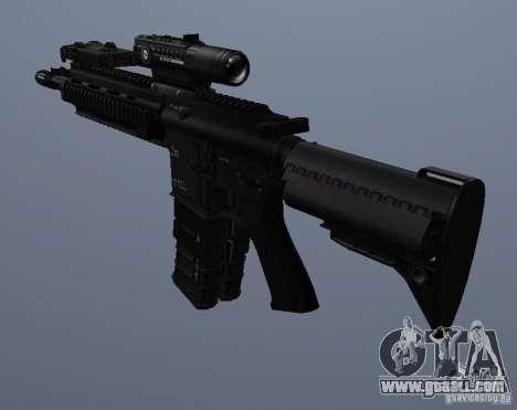 HK416 rifle for GTA San Andreas fifth screenshot