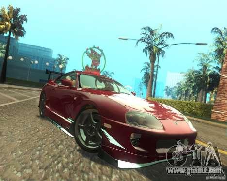 Toyota Supra Light Tuned for GTA San Andreas right view