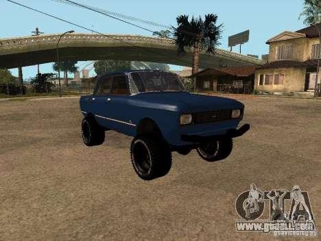 Moskvich 412-4 x 4 for GTA San Andreas
