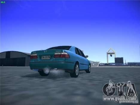 Mazda 626 GF 1999 for GTA San Andreas inner view