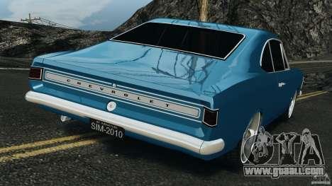 Chevrolet Opala Gran Luxo for GTA 4 back left view