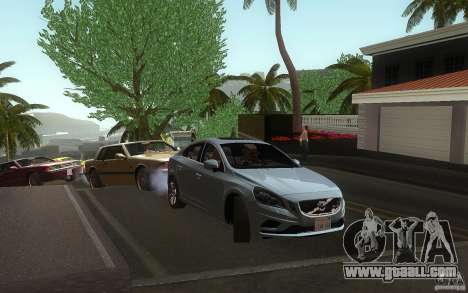 Volvo S60 2011 for GTA San Andreas right view