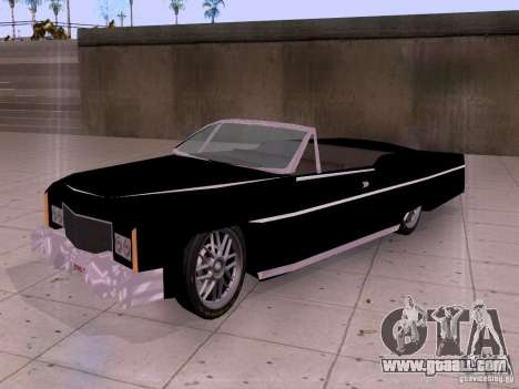 Cadillac Deville 1974 for GTA San Andreas