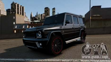 Mercedes Benz G55 AMG Aka Eurosport body kit for GTA 4
