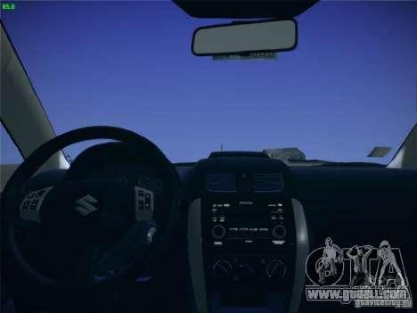 Suzuki SX4 2012 for GTA San Andreas right view
