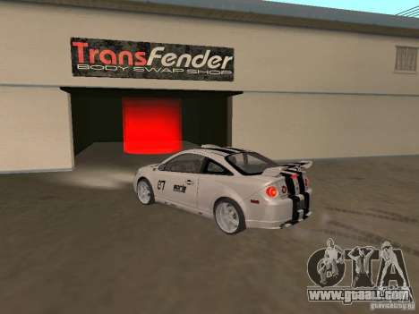 Chevrolet Cobalt Tuning for GTA San Andreas left view