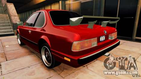 BMW M6 1985 Tuning Final for GTA 4