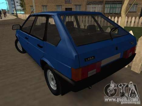 VAZ 2109 Drain for GTA San Andreas left view