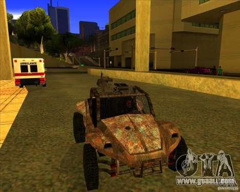 Desert Bandit for GTA San Andreas right view