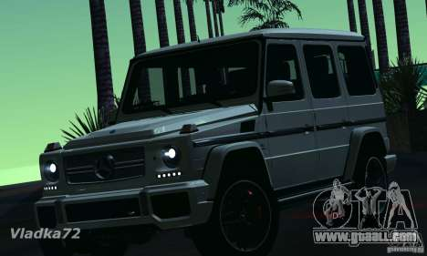 Mercedes-Benz G65 AMG 2013 for GTA San Andreas left view