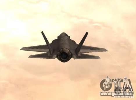 F-35 Eagle for GTA San Andreas left view