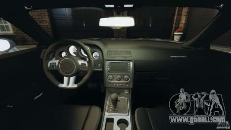 Dodge Challenger SRT8 392 2012 for GTA 4 back view