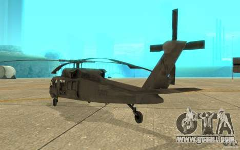 UH-80 for GTA San Andreas right view