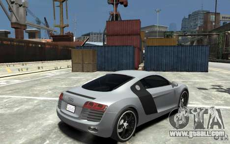 Audi R8 2008 for GTA 4 right view