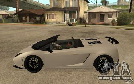 Lamborghini Gallardo LP570-4 for GTA San Andreas left view