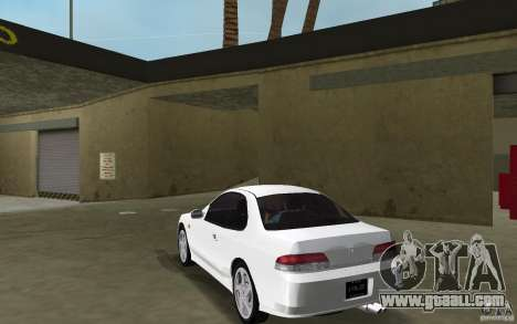 Honda Prelude 2.2i for GTA Vice City back left view