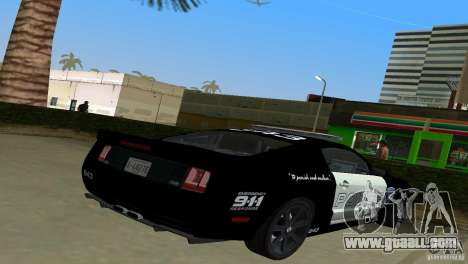 Saleen S281 Barricade 2007 for GTA Vice City left view