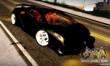 Lamborghini Sesto Elemento for GTA San Andreas right view