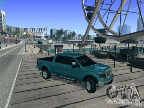 Ford F-150 2013 for GTA San Andreas left view