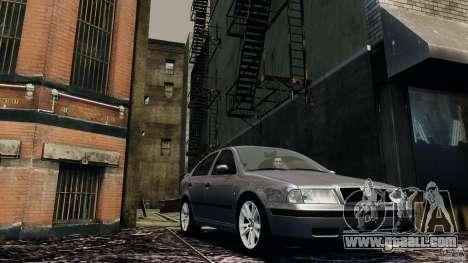 Skoda Octavia v.1.0 for GTA 4 left view
