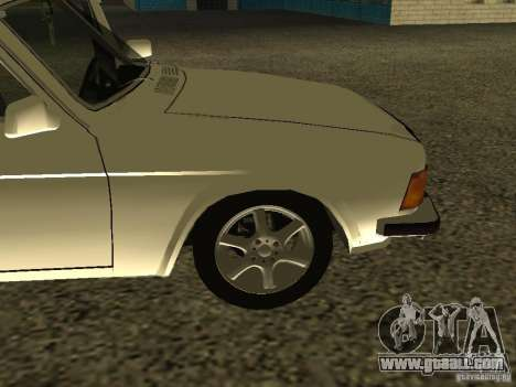 GAZ 3102 Volga for GTA San Andreas back view