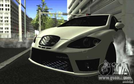 Seat Leon Cupra R for GTA San Andreas left view