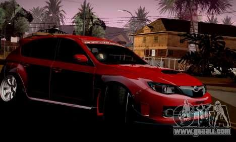 Subaru Impreza WRX Camber for GTA San Andreas