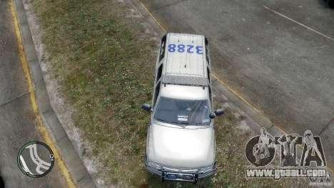 Chevrolet Suburban 2006 Police K9 UNIT for GTA 4 inner view