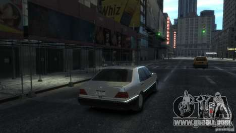 Mercedes-Benz 600SEL wheel2 tinted for GTA 4