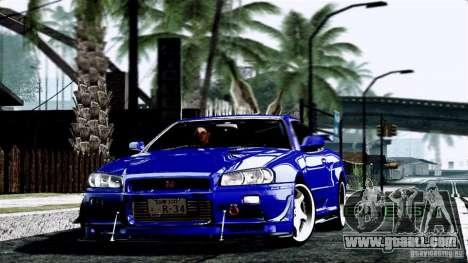 ENB By Wondo for GTA San Andreas fifth screenshot
