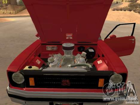 Chevrolet Nova Chucky for GTA San Andreas back view