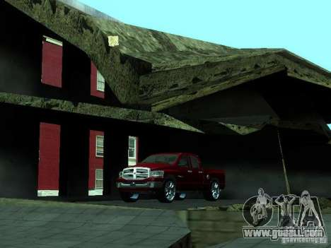 Dodge Ram 1500 v2 for GTA San Andreas inner view