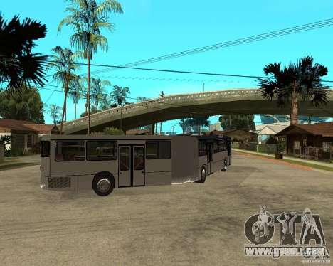 Mercedes Benz O 305 G for GTA San Andreas back left view