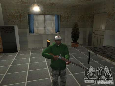 Pak Domestic Weapons V2 for GTA San Andreas ninth screenshot