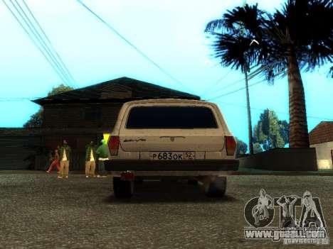 GAZ VOLGA 310221 TUNING version for GTA San Andreas right view