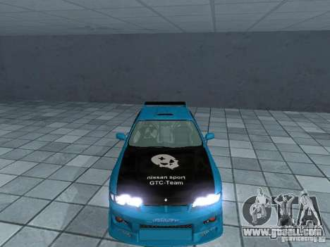 Nissan Skyline R 33 GT-R for GTA San Andreas inner view