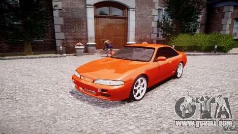 Nissan Silvia Ks 14 1994 v1.0 for GTA 4 back view